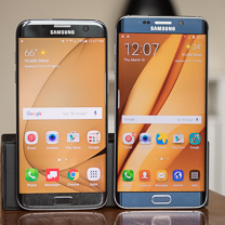 Samsung Galaxy Samsung S7 edge vs Galaxy Borda S6 + 1