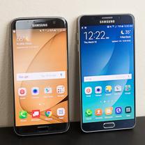 Samsung Galaxy Samsung S7 edge vs Galaxy Nota 5 1