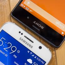 Samsung Galaxy Sony Xperia Z3 vs S6 1