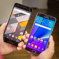 Samsung Nexus 6P vs Samsung Galaxy Nota 5 1